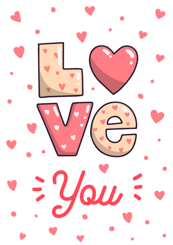 Grafica San Valentino 2 - Love you